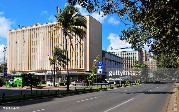 Lusaka, Zambia: Central business district