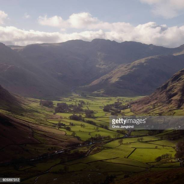 Lush Valley in the Lake District.