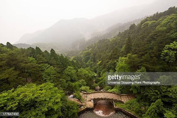LuShan Footbridge in Mountains