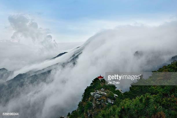 Lushan Mountain in Jiujiang city Jiangxi province China