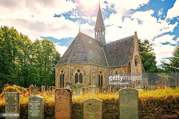 Luss Parish Church in Loch Lomond, Scotland
