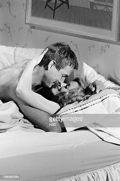 ST ELSEWHERE Lust Et Veritas Episode 2 Pictured Mark Harmon as Doctor Robert Caldwell Nancy Stafford as Joan Halloran
