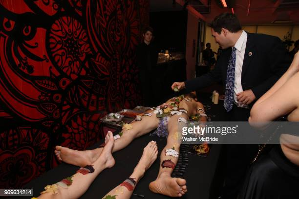 Lust Immersive Sushi Bar during The Chashama Gala at 4 Times Square on June 7 2018 in New York City