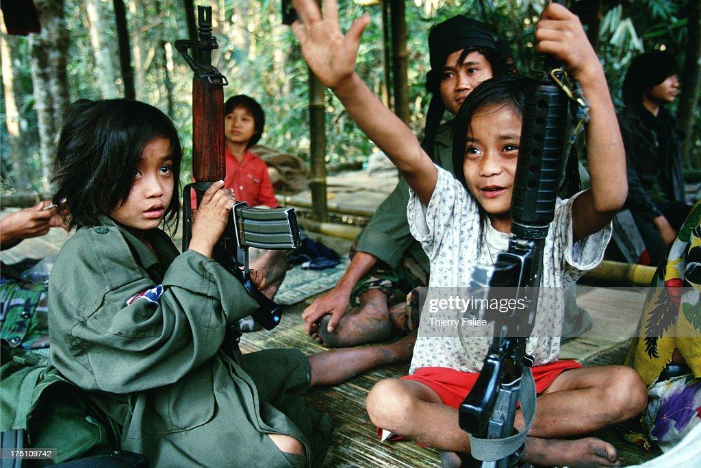 Myanmar ethnic armies : News Photo