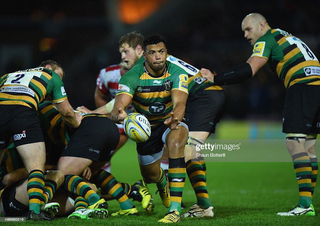 Northampton Saints v Gloucester Rugby - Aviva Premiership : News Photo