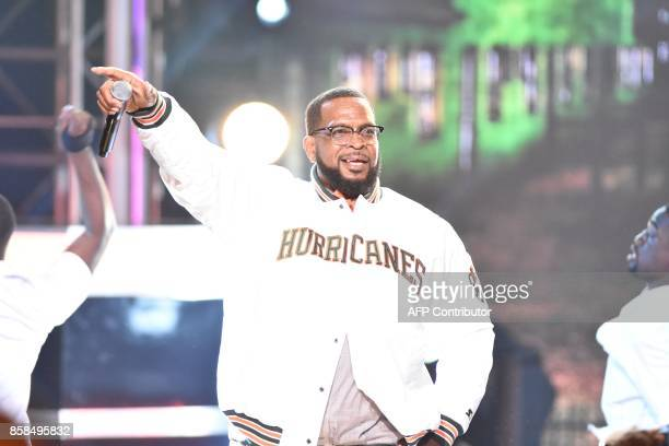 Luther Cambell aka Uncle Luke performs during the BET Hip Hop Awards 2017 at The Fillmore Miami Beach at the Jackie Gleason Theatre on October 6 2017...