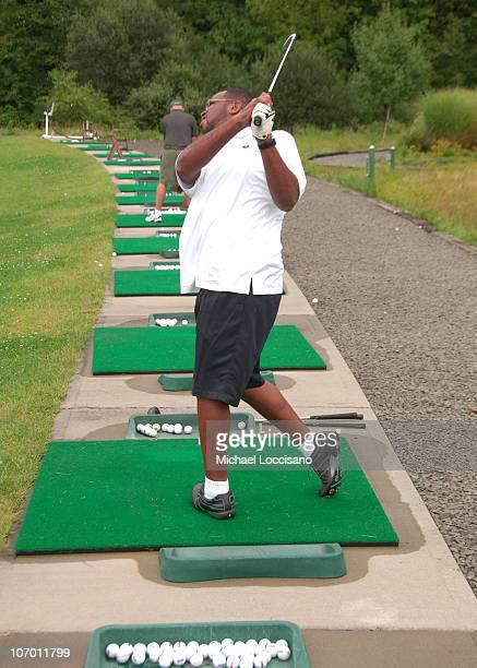 Luther Campbell of 2 Live Crew during Entertainmamt Golf Association's 4th Annual Celebrity Golf Tournament at Minisceongo Golf Club in Pomona, New...
