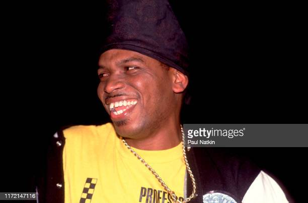 Luther Campbell of the group 2 Live Crew performing at the International Ampitheater in Chicago, Illinois, July 8, 1990.
