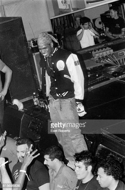 Luther Campbell performing with 2 Live Crew at the Palladium in New York City on July 18 1990