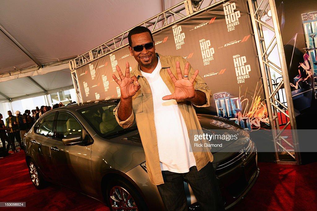 BET Hip Hop Awards 2012 - Red Carpet : News Photo