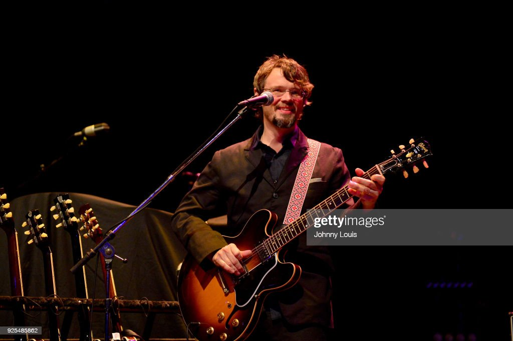 Luther Dickinson of North Mississippi Allstars performs at The Fillmore Miami Beach at Jackie Gleason Theater on February 25, 2018 in Miami Beach, Florida.