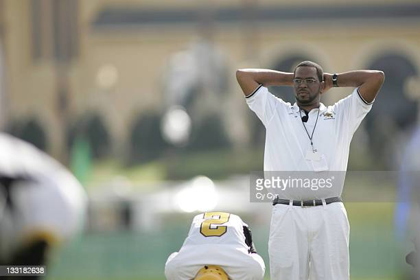 Luther Luke Campbell formerly of the controversial group 2 Live Crew is head coach of the Liberty City Warriors in the Pop Warner Organization...