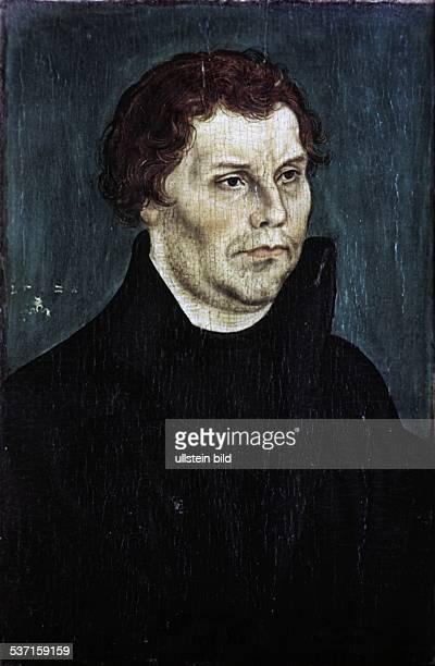 Luther Martin Reformator D Portrait undatiert