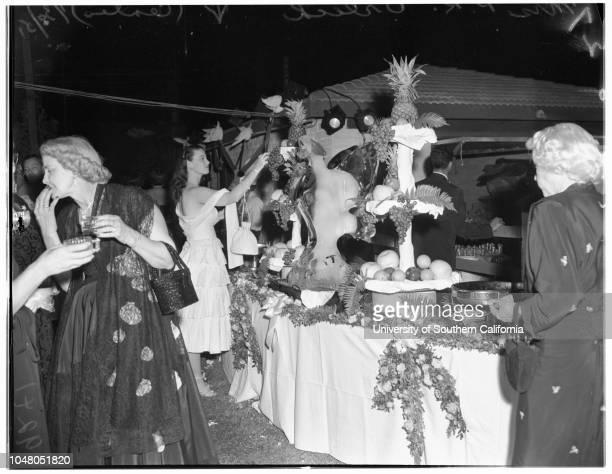 Luther Scherer wedding 30 July 1951 Lieutenant Governor Clifford Jones Luther B 'Tudor' Scherer Leveeda Marie Varley Mrs Henry Van Dyke Fred Soly...