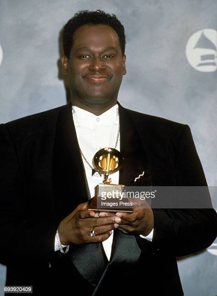 Luther Vandross attends the 33rd Annual Grammy Awards circa 1991 in New York City