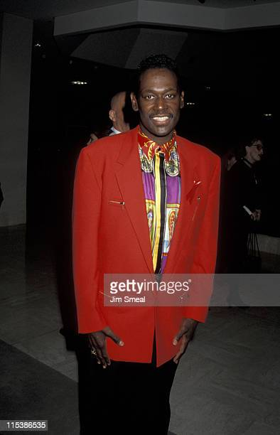 Luther Vandross during Fall Fashion Line Presentation and Cocktail Party For Donna Karan at Neiman Marcus Store in Beverly Hills California United...