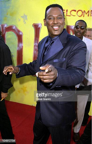 Luther Vandross during The 7th Annual Soul Train Lady of Soul Awards Arrivals at Santa Monica Civic Auditorium in Santa Monica California United...