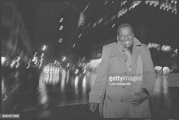 Luther Vandross in the City at Night