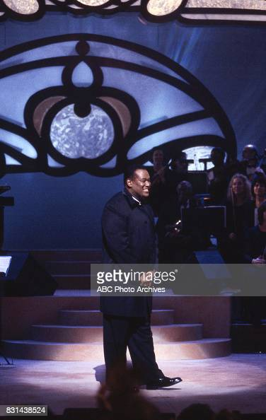 Luther Vandross Christmas.Luther Vandross Performing On Vanessa Williams Friends