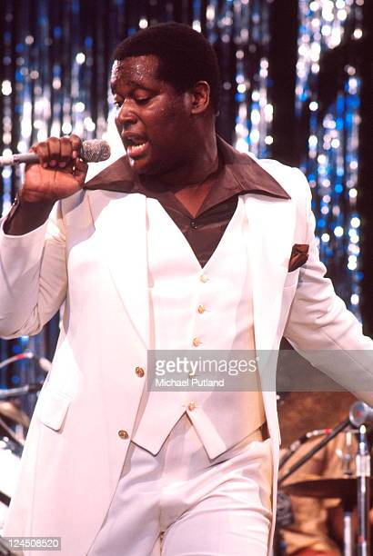 Luther Vandross performs on stage at Montreux Jazz Festival 1977