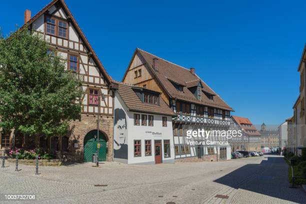 lutherhaus in eisenach, germany - アイゼナッハ ストックフォトと画像