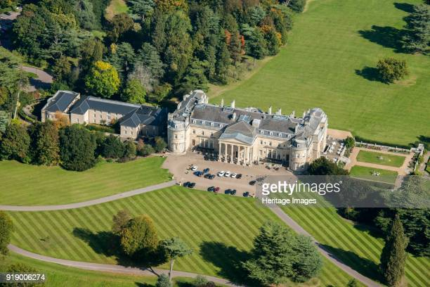 Luton Hoo, Bedfordshire, circa 2015. A country house originally designed by Robert Adam and begun in 1767. It was later remodelled by Robert Smirke...