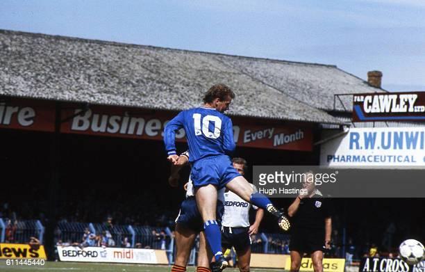 Luton Town 1 v Chelsea 1 Chelsea's David Speedie David Speedie