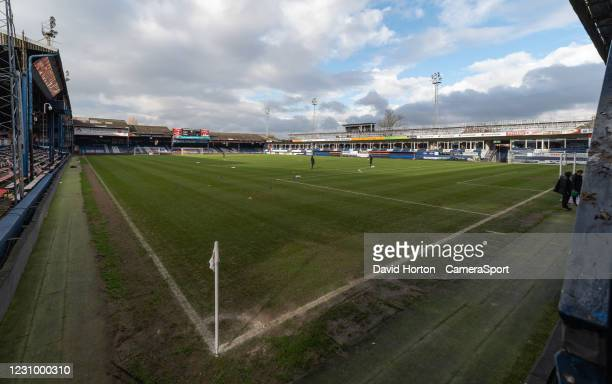 Luton Town FC stadium - Ground view during the Sky Bet Championship match between Luton Town and Huddersfield Town at Kenilworth Road on February 6,...