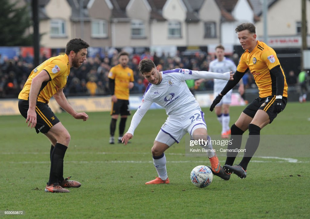 Newport County v Luton Town - Sky Bet League Two