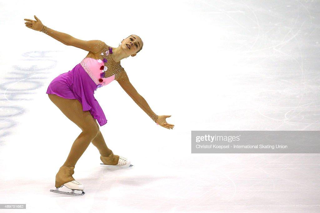 ISU Junior Grand Prix of Figure Skating Torun - Day 1 : News Photo