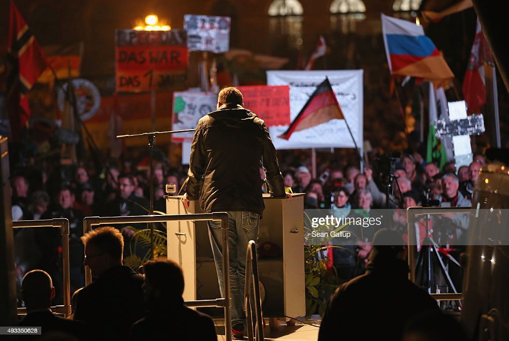 Pegida Movement Marks First Anniversary