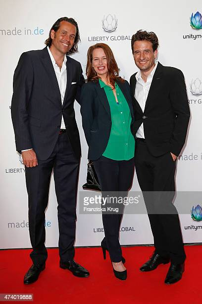 Lutz Schueler Nicola Mommsen and Oliver Mommsen attend the made inde Award 2015 on May 19 2015 in Berlin Germany