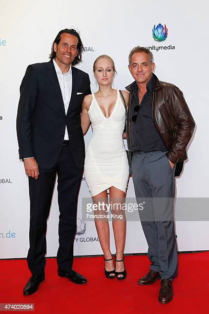 Lutz Schueler Tatjana Thinius and Florian Fitz attend the made inde Award 2015 on May 19 2015 in Berlin Germany