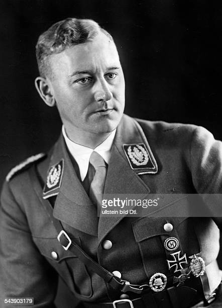 Lutze Viktor Officer SAcommander Germany*28121890Portrait in uniform 1935 Photographer PresseIllustrationen Heinrich Hoffmann Vintage property of...