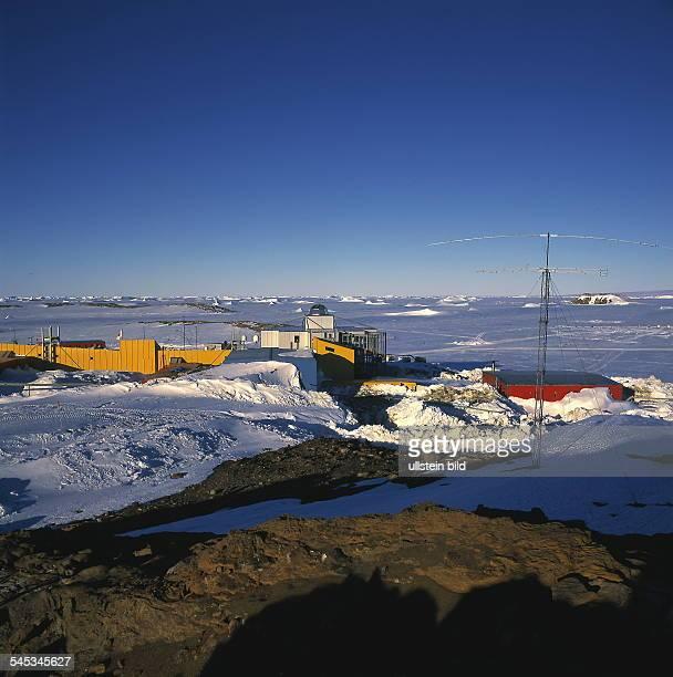 Japanische Forschungsstation Syowa 1999forschung forschungseinrichtung station polarforschungjapan polarforschungsstation
