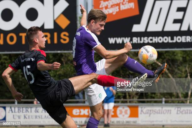 Luuk Wouters of FC Groningen during the Club Friendly match between vv 't Fean '58 v FC Groningen at the Sportpark It Ketting on July 7 2018 in...