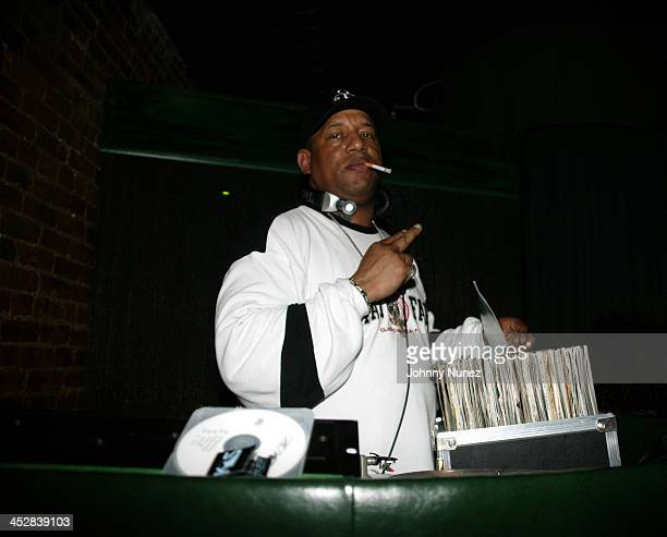 DJ Luvbug Starsky during 4th Annual Tribeca Film Festival Just For Kicks After Party at Kos in New York City New York United States