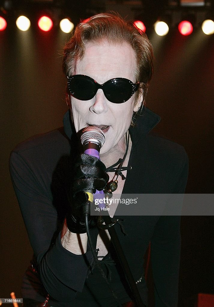Lux Interior (Erick Purkhiser) Of The Cramps Performs At The Astoria On  August 15