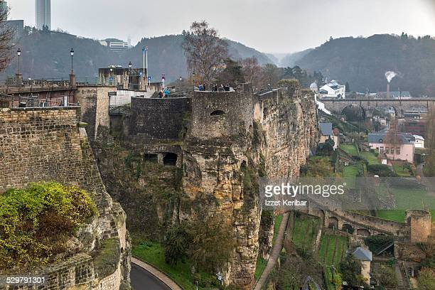 Luxembourg ciry Casemates du Bock fortifications