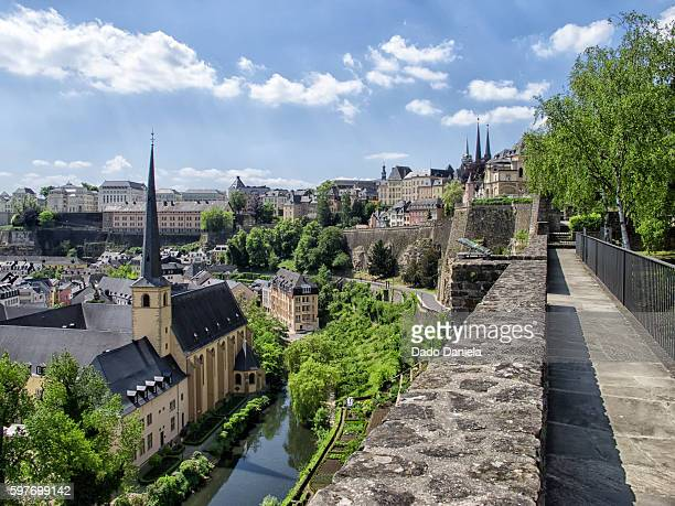 luxembourg city - luxembourg benelux stock pictures, royalty-free photos & images