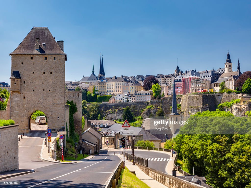 Luxembourg city skyline stock photo getty images luxembourg city skyline stock photo altavistaventures Choice Image