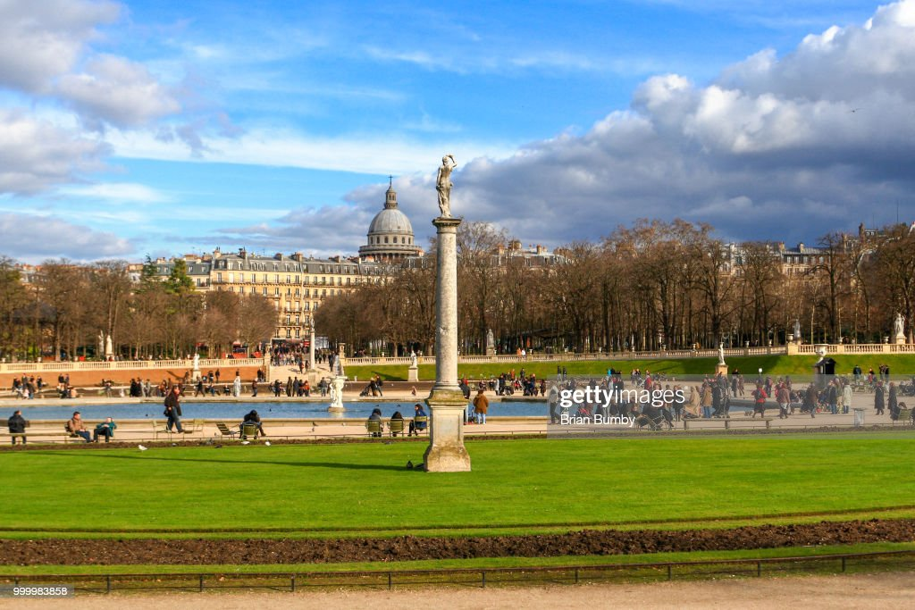 Luxembourg Gardens Paris France Stock Photo Getty Images