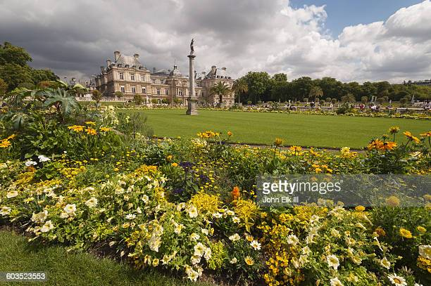 Luxembourg Gardens with Luxembourg Palace