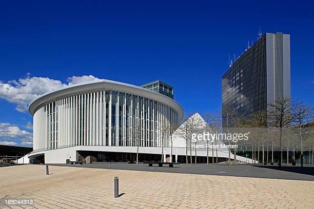 Luxembourg, Kirchberg, Philharmonie