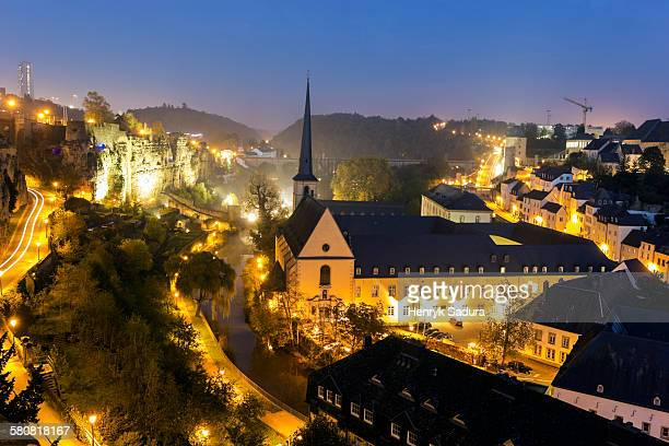 Luxembourg, Luxembourg City, Neumunster Abbey