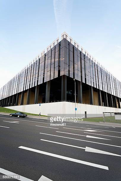Luxembourg, Luxembourg City, view to building of European Court of Justice