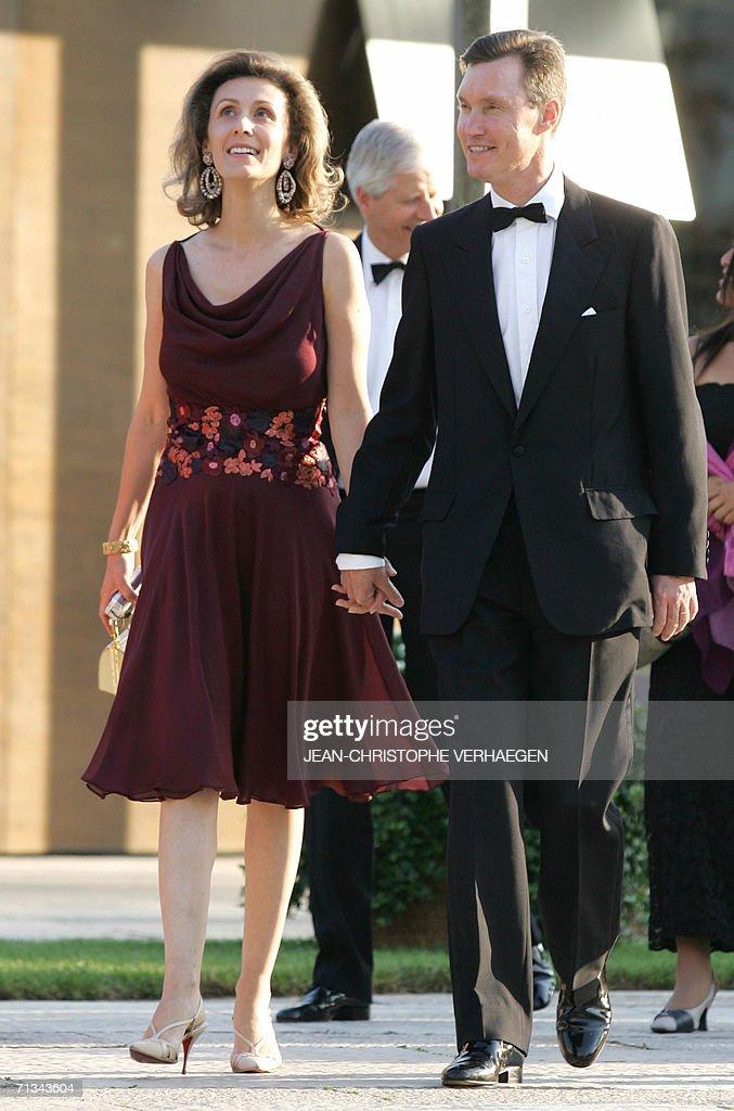 Prince Guillaume and Princess Sibilla of : News Photo