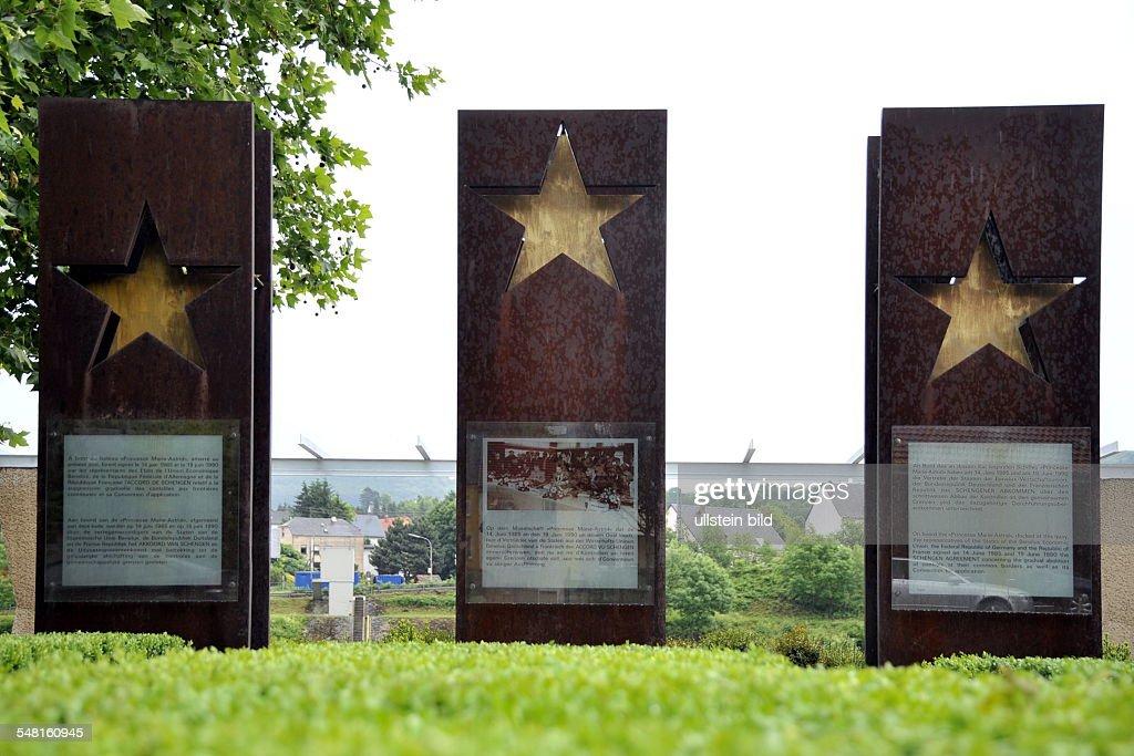 Luxembourg Luxembourg Schengen The Memorial For The Schengen