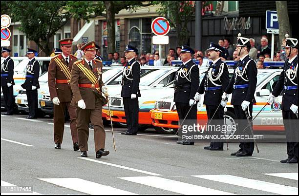 Luxembourg National day in Luxembourg on June 22, 2000 - Henri of Luxembourg and Grand Duke of Luxembourg.