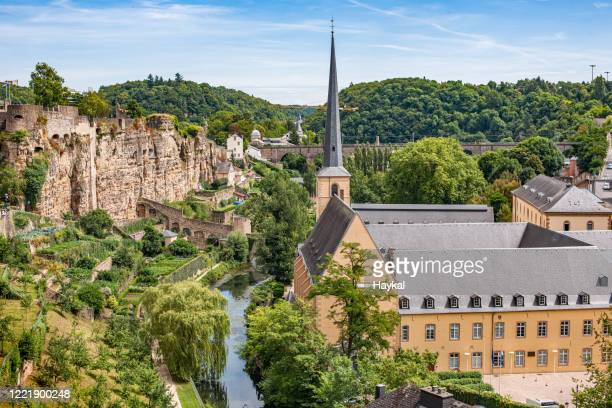 luxembourg - capital cities stock pictures, royalty-free photos & images